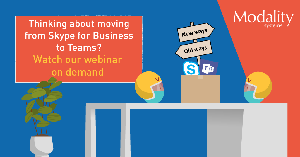 Webinar on demand: Moving from Skype to Teams