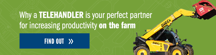 Why a telehandler is your perfect partner for increasing productivity on the farm