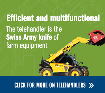 Efficient and multifunctional Telehandlers