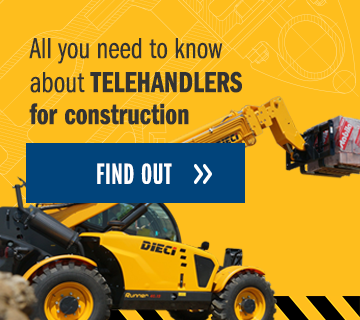 All you need to know about telehandlers for construction