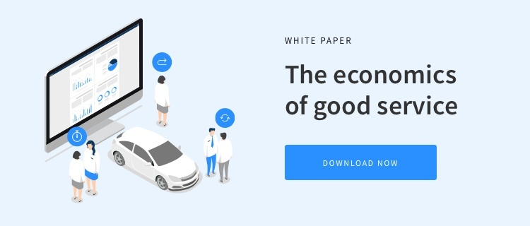 Download our automotive white paper - The Economics of Good Service