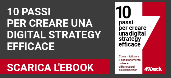 Scarica l'ebook: 10 passi per creare una digital strategy efficace