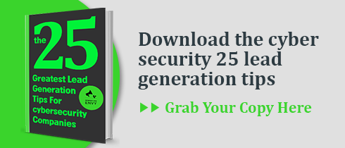 Download the cyber security 25 lead generation tips