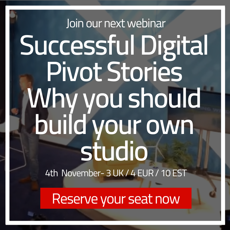 Successful Digital Pivot Stories - Why you should build your own studio