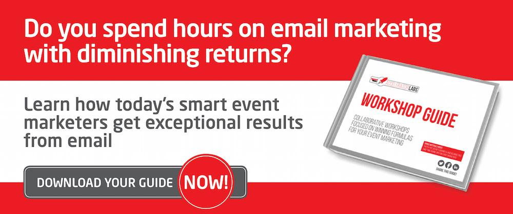 Get on top of your event marketing emails