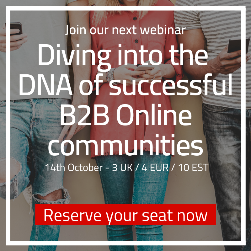CTA - Diving into the DNA of successful B2B Online communities - square