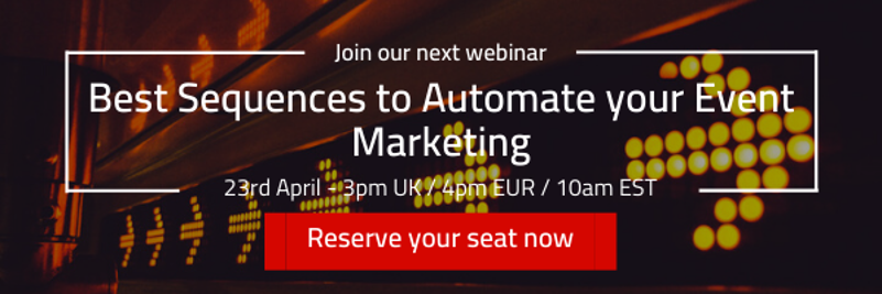 MoFu - Best Sequences to Automate your Event Marketing