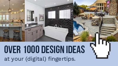 Over 1000 Design Ideas at your digital fingertips.