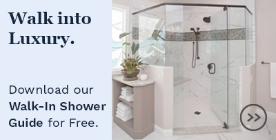 Walk into luxury. Download our Walk-in Shower Guide for free.