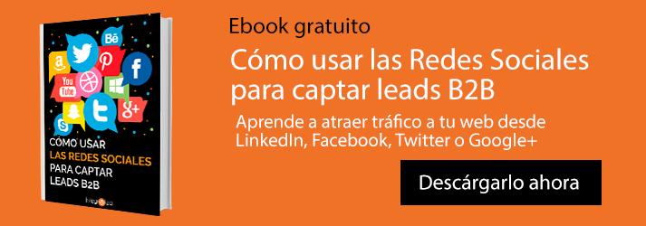 (ebook) usar las redes sociales para captar leads B2B