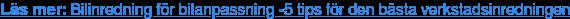 Läs mer: Bilinredning för bilanpassning -5 tips för den bästa  verkstadsinredningen