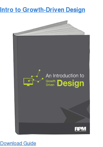 Intro to Growth-Driven Design Download Guide