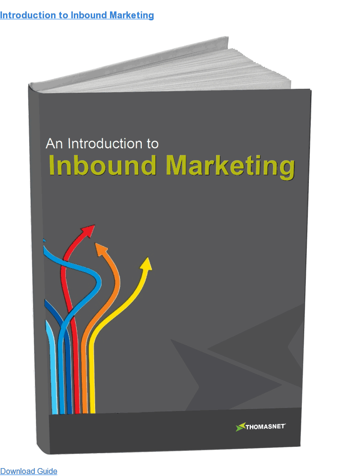 Introduction to Inbound Marketing Download Guide