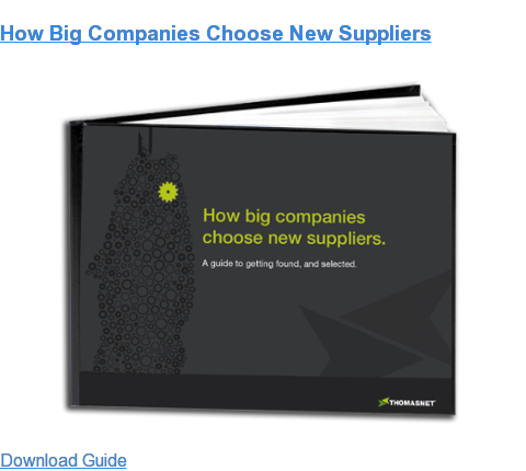 How Big Companies Choose New Suppliers Download Guide