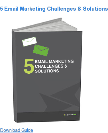 5 Email Marketing Challenges & Solutions Download Guide