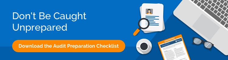Download the Audit Preparation Checklist