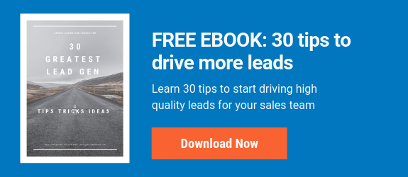 free ebook - 30 tips to drive more leads