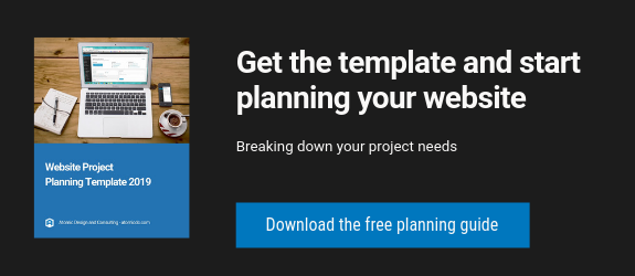 download the free website planning guide