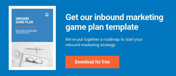 Inbound Marketing Game Plan Template