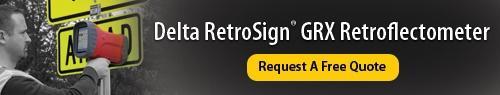 Delta RetroSign GRX Retroreflectometer - Request a Free Quote