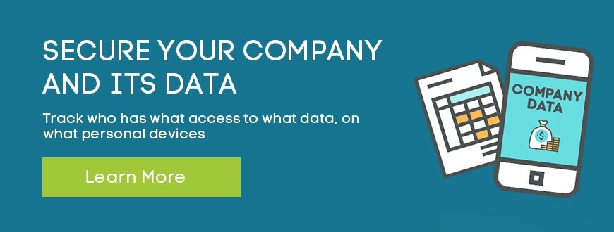 Secure your company and its data