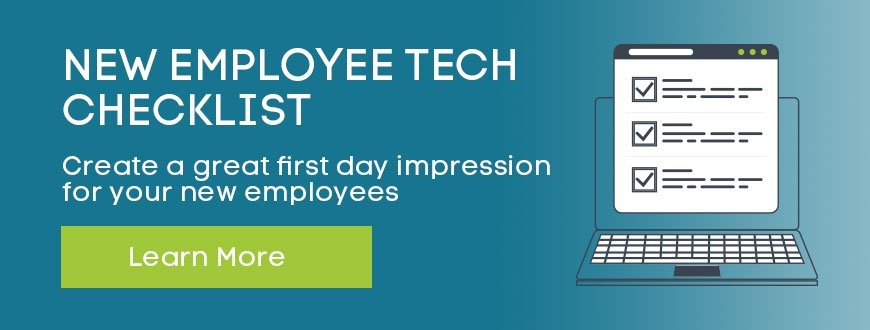 New Employee Tech Checklist