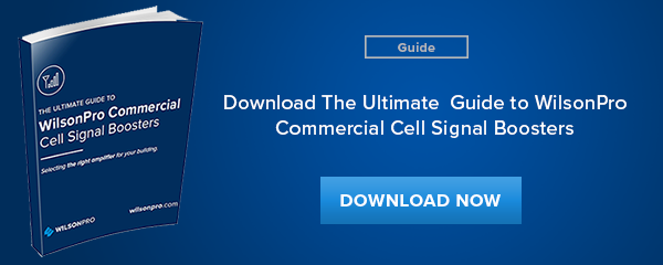 Wilson Pro's Commercial Cell Signal Boosters Guide