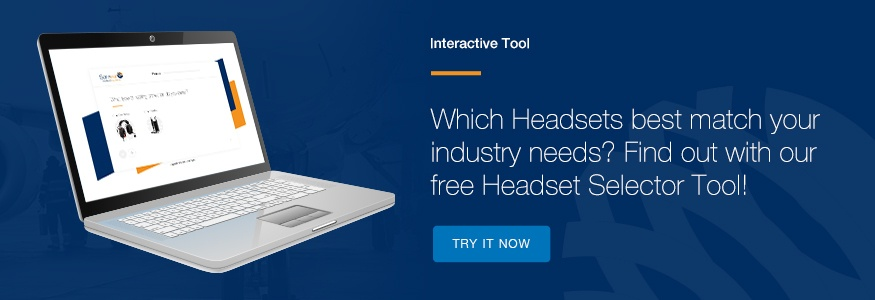 Headset Selector tool - Find out which industrial headset match you industry needs