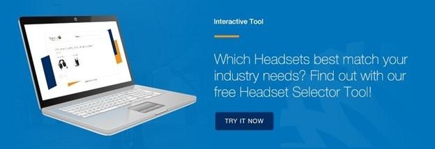 Sensear Headset Interactive Selector Tool