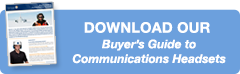 Download our buyers guide to communications headsets