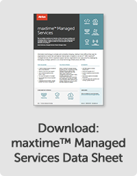 maxtime™ Managed Services