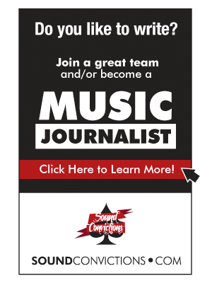 Do you love music? Do you love to write? Join a great team of music journalists at Sound Convictions.