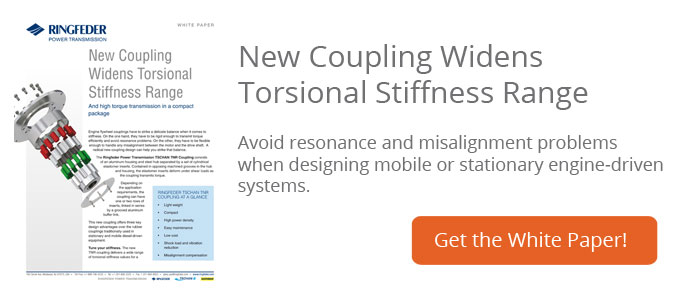 White Paper: New Coupling Widens Torsional Stiffness Range
