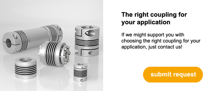 We'd be happy to help you choosing the right coupling for your plant