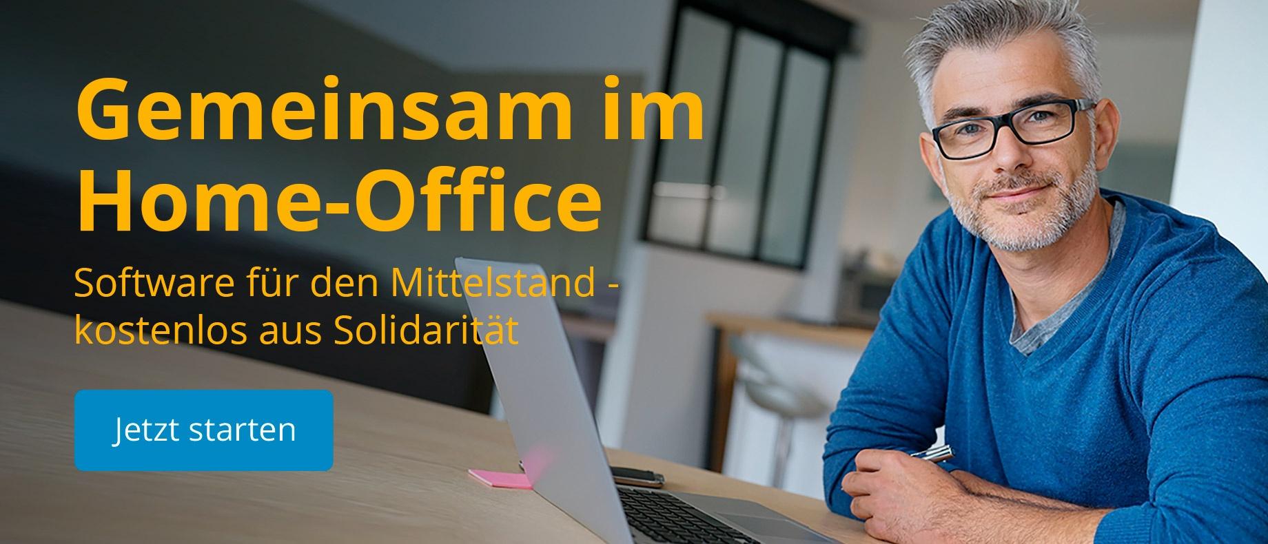 Gemeinsam im Home-Office -Jetzt- Starten-