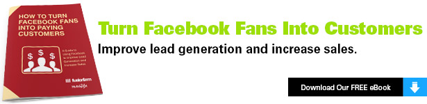 Turn Facebook Fans into Customers Offer