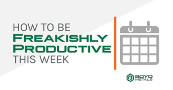 Get the Free Download and be Freakishly Productive!