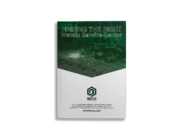 Download the Guide to Finding the Right Metals Service Center
