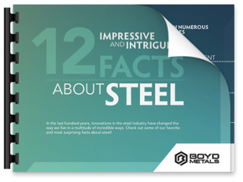 Download 12 Impressive and Intriguing facts about Steel!