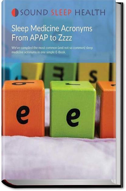 Free Sleep Medicine Acronym Ebook