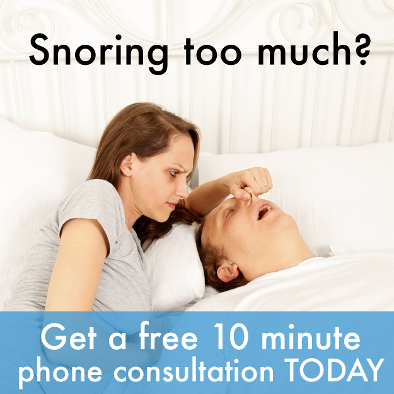 Snoring too much? Get a Free Sleep Assessment today!