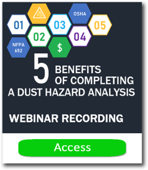 Webinar 5 benefits of completing a dust hazard analysis