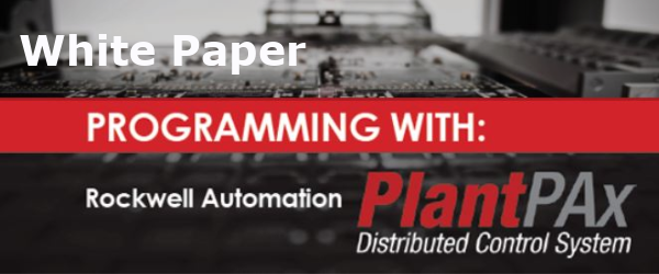 Programming with Rockwell Automation PlantPAx Distributed Control System