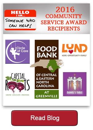 2016 Community Service Award Recipients blog