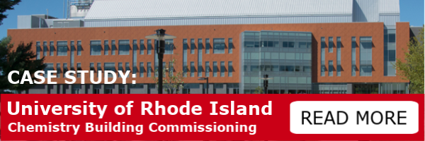 Case Study: University of Rhode Island Chemistry Building Commissioning