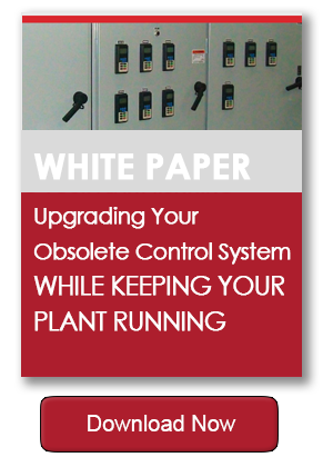 White paper download Upbrading your obsolete control system while keeping your plant running