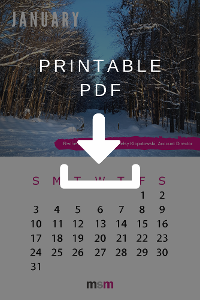 2021 Calendar Print