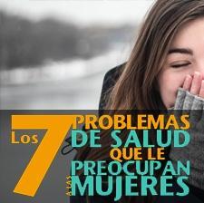 Problemas de salud mujeres