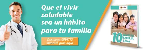 Hábitos saludables de una familia