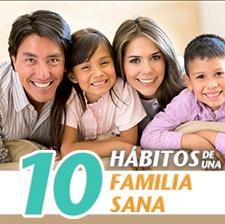 10 hábitos familia sana